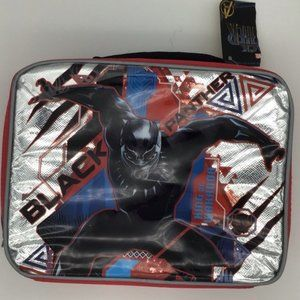 NWT Marvel's Black Panther Lunch Bag 10 x 8 x 3""
